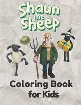 Shaun the Sheep Coloring Book for Kids