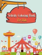 Activity Coloring Book For Kids
