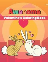 Awesome Valentine's Coloring Book