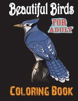 Beautiful Birds Coloring Book For Adult
