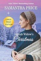 Amish Widow's Christmas LARGE PRINT