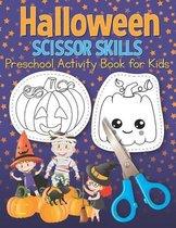 Halloween Scissor Skills Preschool Activity Book for Kids