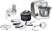 Bosch Compacte keukenrobot MUM5 1000 W Wit, champagne