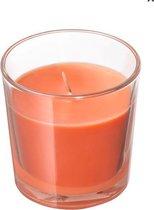 De geurkaars die iedereen kent! Heerlijk naar sinaasappel geurende kaarsen.