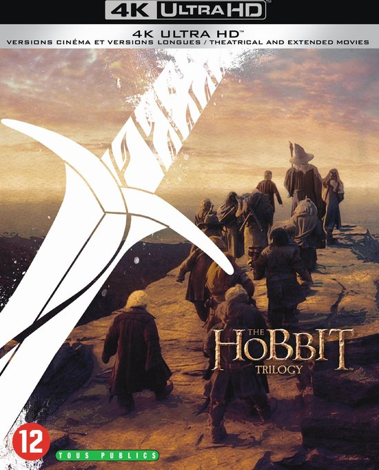 The Hobbit Trilogy (4K Ultra HD Blu-ray)