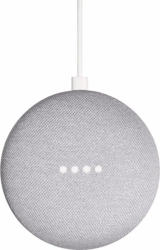 Google Nest Mini - Smart Speaker / Grijs / Nederlandstalig - 2-pack