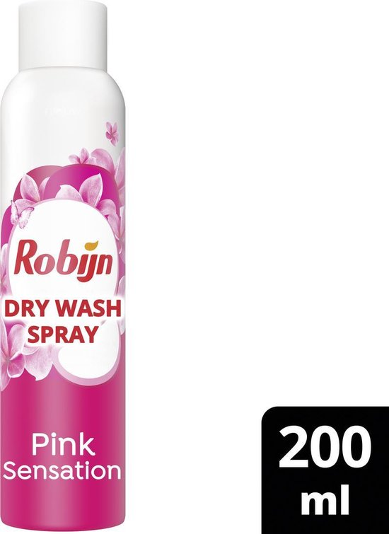 Robijn Dry Wash Spray Pink Sensation - 200 ml