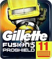 Gillette Fusion 5 Proshield Scheermesjes Mannen - 11 Stuks
