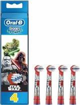 Oral-B Kids Star Wars - Opzetborstels - 4 stuks