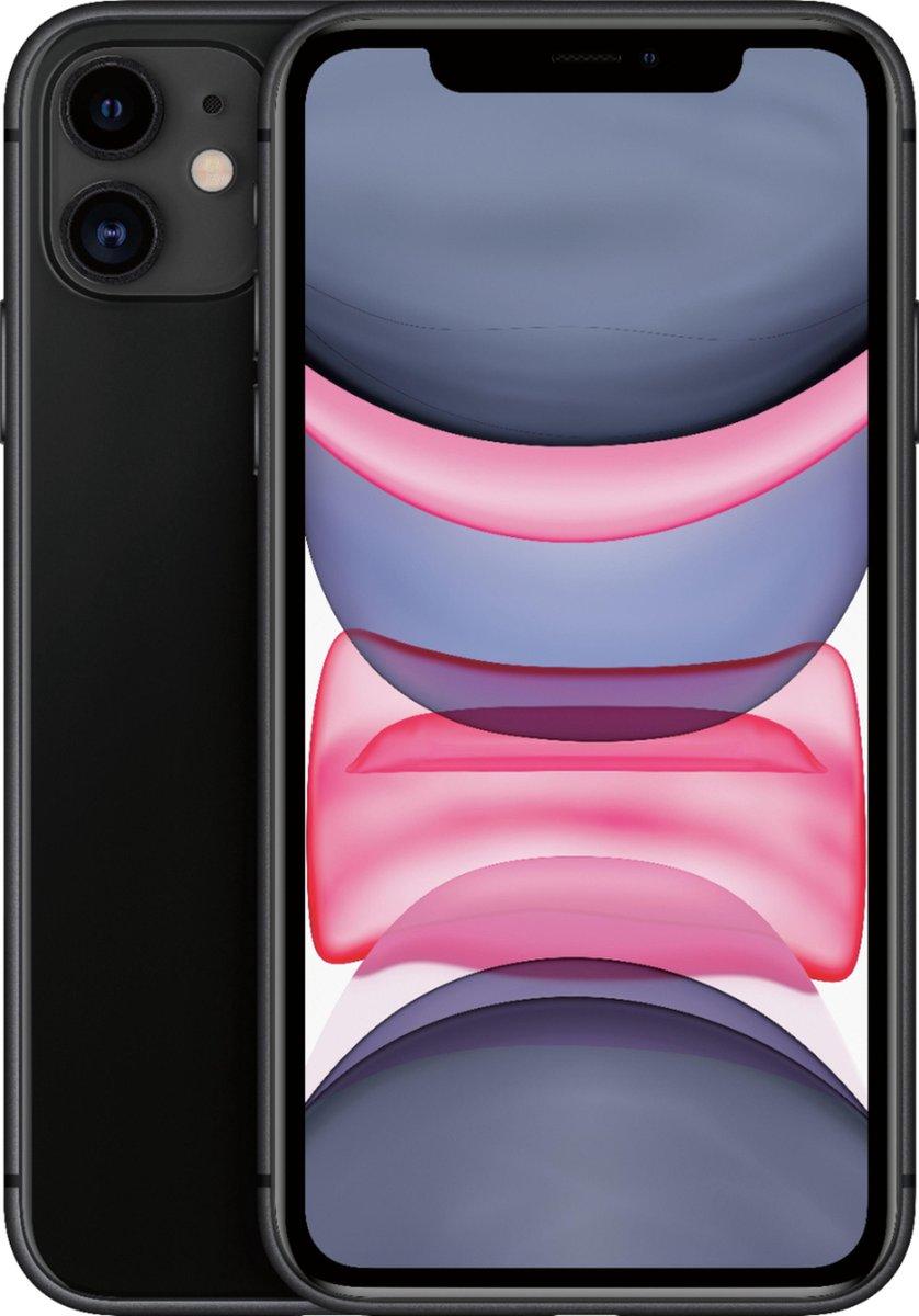 Apple iPhone 11 - Refurbished door SUPREME MOBILE - A grade (Zo goed als nieuw)- 128GB - Zwart