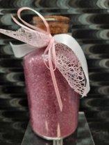 scrubzout - badzout met olie en lavendelgeur