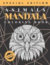 Animals Mandala Coloring Book