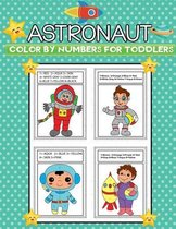 astronaut color by numbers for toddlers
