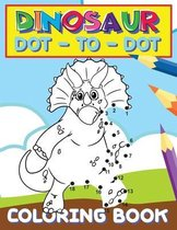 Dinosaur Dot To Dot Coloring Book