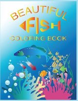 Beautiful Fish Coloring Book