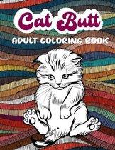 Cat Butt Adult Coloring Book