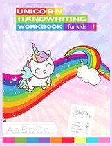 Unicorn Handwriting Workbook for Kids