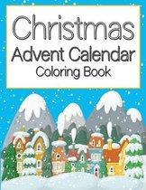 Christmas Advent Calendar Coloring Book