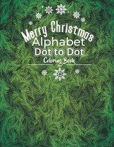 Merry Christmas Alphabet Dot to Dot Coloring Book
