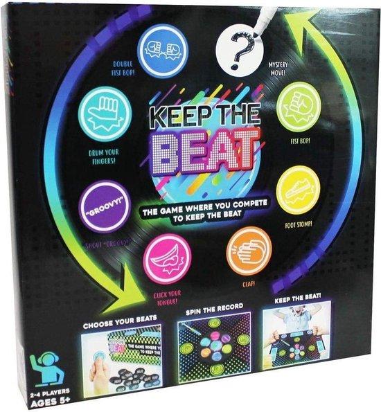 Afbeelding van het spel Games Hub Gezelschapsspel Keep The Beat (en)