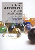 Boek cover Basisboek bedrijfseconomie van Rien Brouwers (Paperback)
