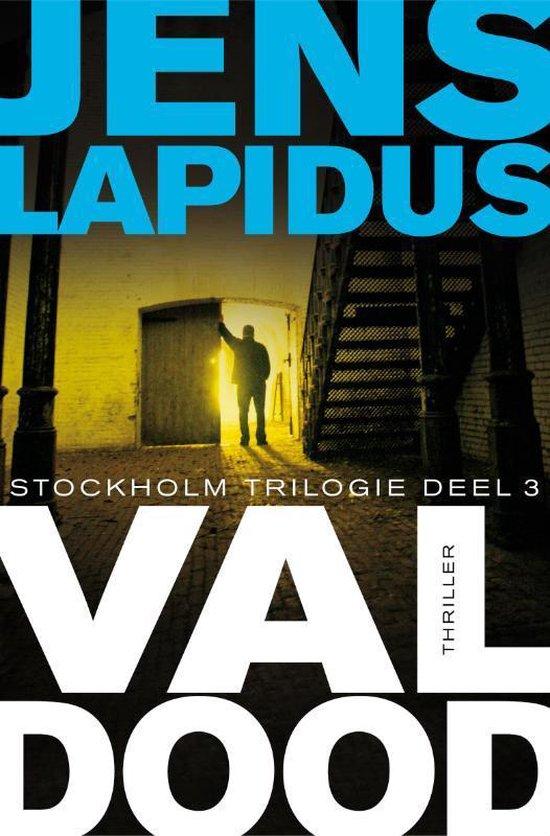 Boek cover De Stockholm-trilogie 3 -   Val dood van Jens Lapidus (Paperback)