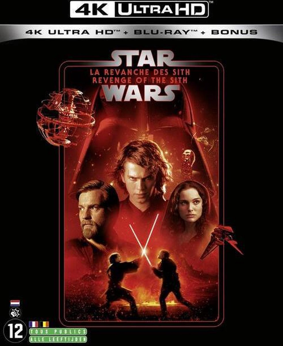 Star Wars: Episode III - Revenge of the Sith (4K Ultra HD Blu-ray) (Import zonder NL)-