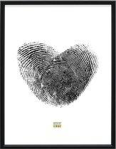Deknudt Frames Fotolijst - Zwart hout - S236K2 - Voor foto: 40x50 cm