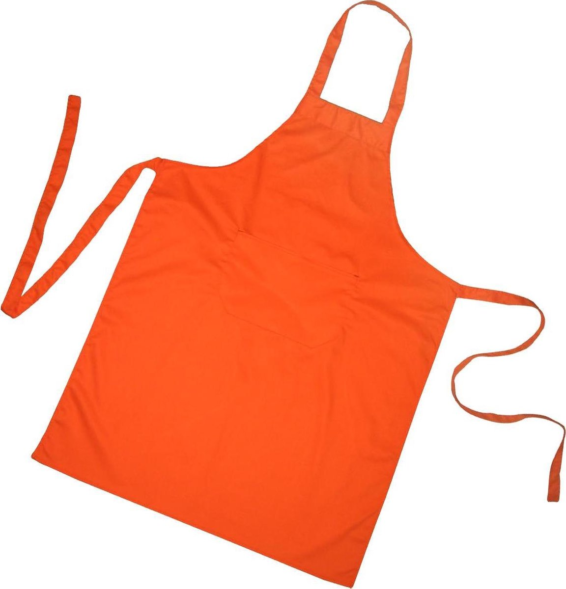 Homéé® Horeca suite Keukenschorten BBQ BIB Apron - oranje - 70x100 cm - 2 stuks