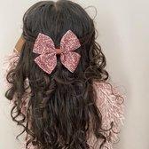 Haarspeldje met strik large animal | Bruin, Zwart | Meisje