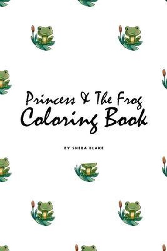 Princess and the Frog Coloring Book for Children (6x9 Coloring Book / Activity Book)