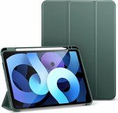 ESR - iPad Air 2020 hoes - 10.9 inch - Rebound Tri-Fold Case met Pencil Houder - Auto Wake Functie - Groen