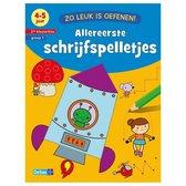 Boek Zo Leuk Is Oefenen Schrijfspelletjes 4-5 Jaar