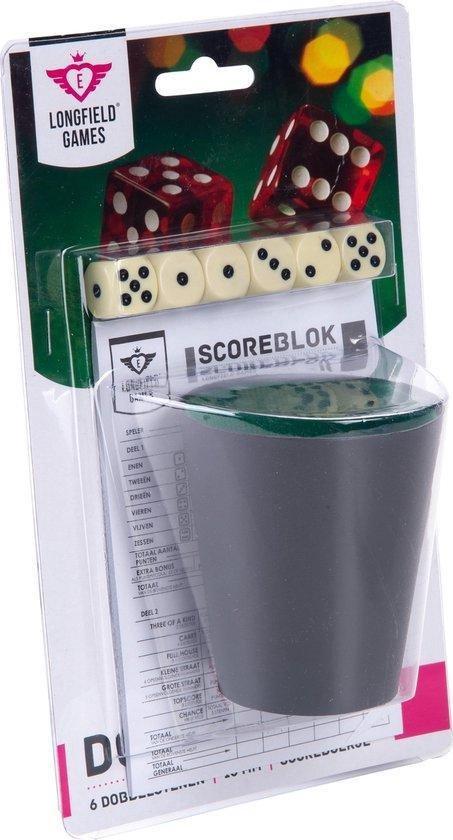Afbeelding van het spel Longfield games Dobbelset met 6 dobbelstenen