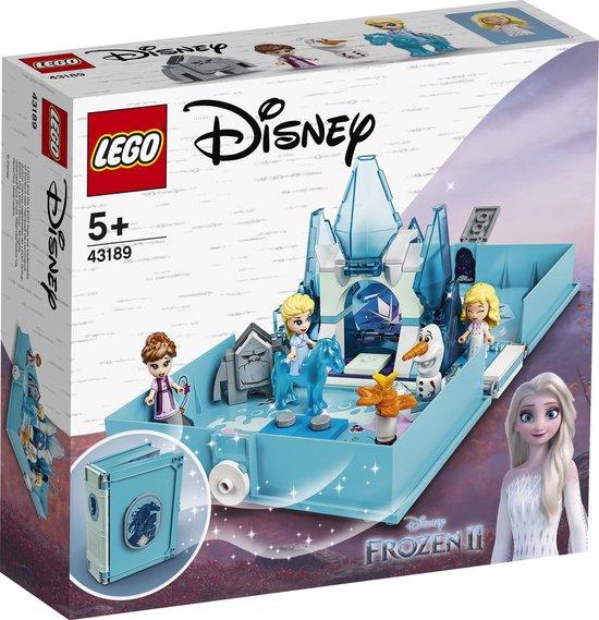 LEGO Disney Frozen 2 Elsa en de Nokk Verhalenboekavonturen - 43189