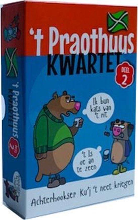 Thumbnail van een extra afbeelding van het spel 't Proathuus Kwartet deel 2 - Kwartet in Achterhoeks Dialect