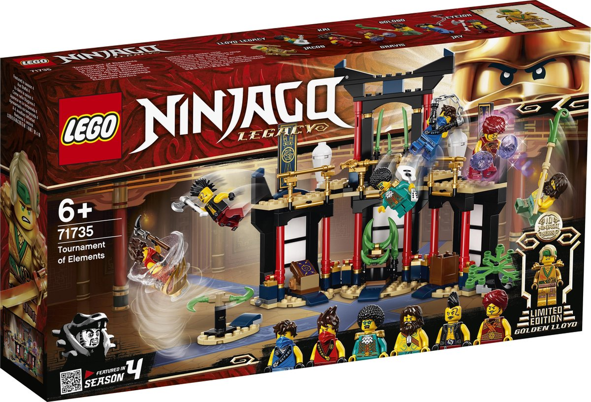 LEGO NINJAGO Legacy Toernooi der Elementen - 71735