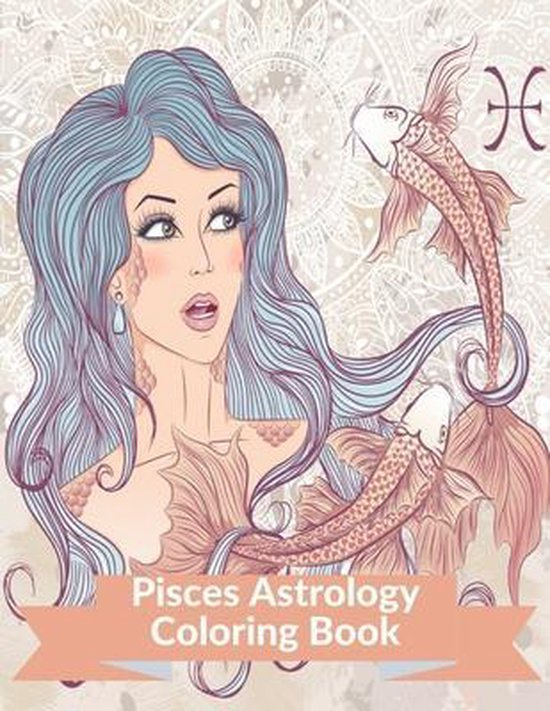 Pisces Astrology Coloring Book