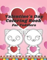 Valentine's Day Coloring Book For Toddlers