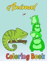 Animal Coloring Book: Animals Activity Book For Kids