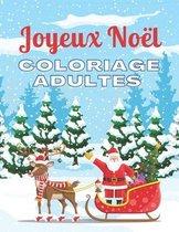Joyeux Noel - Coloriage Adultes