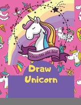 Cute How To Draw Unicorn book for kids