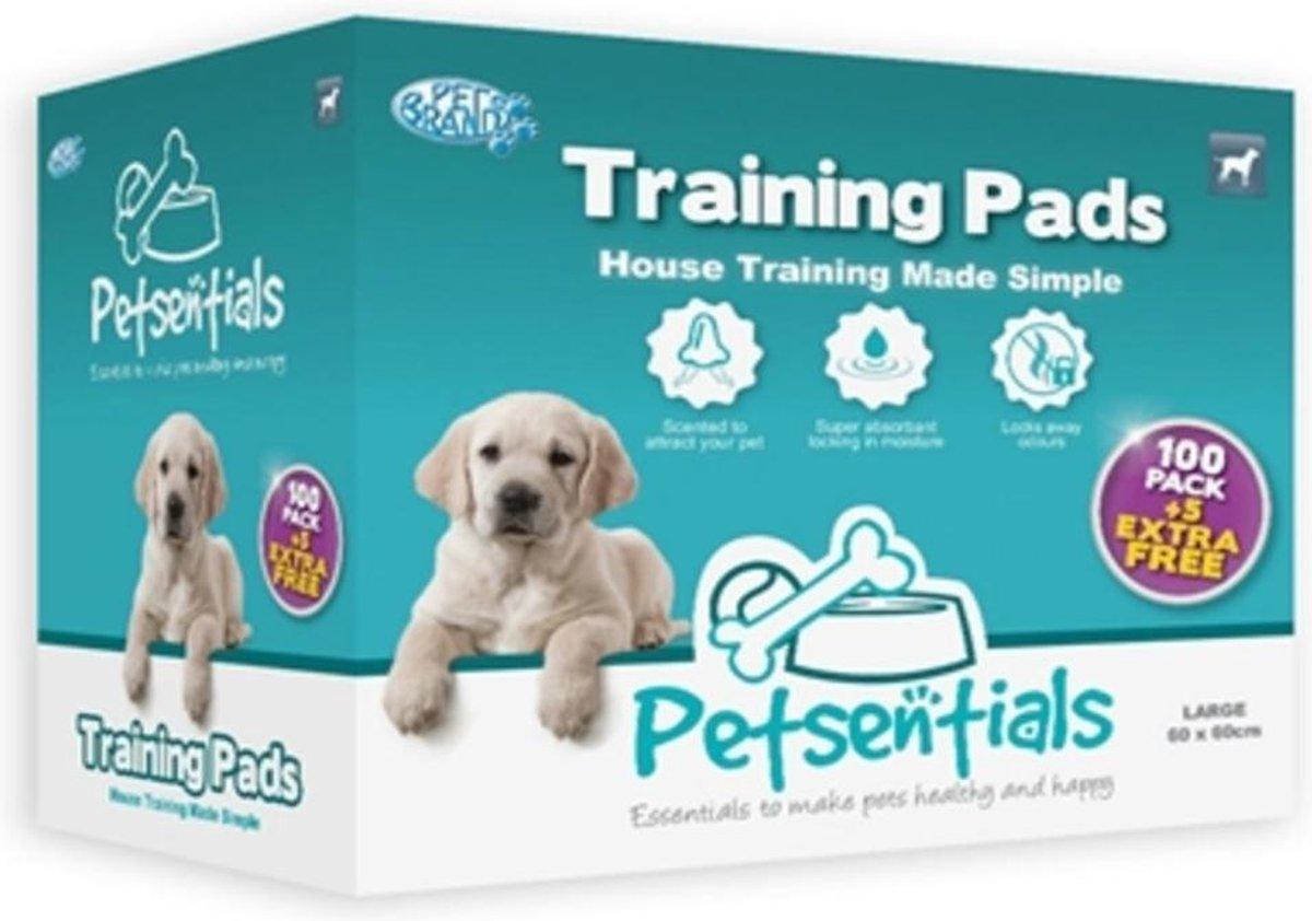 Petsentials Puppy Training Pads - Zindelijkheidstraining - 105 st - L - 58 x 58 cm