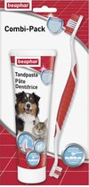 Beaphar Hondentandenborstel En Tandpasta - Combi Pack - 1 St