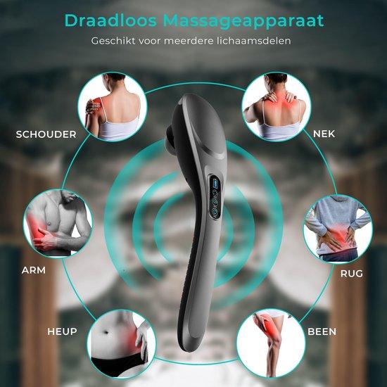 Professioneel Draadloos Massageapparaat - Klopmassage - Vibratiemassage - Massage Gun