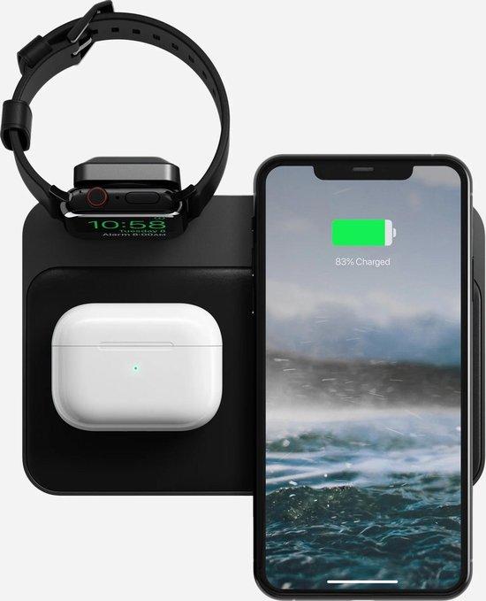Bol Com Nomad Qi Charging Base Station Iphone Apple Watch