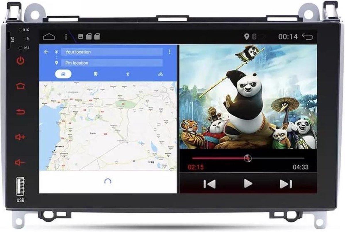 Mercedes Benz 9inch A klasse B klasse Vito Viano Sprinter Volkswagen Crafter Android 10 navigatie en multimediasysteem + GRATIS CAMERA