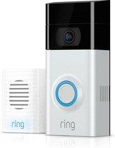 Ring Video Deurbel 2e generatie - Inclusief Chime (deurbelgong)