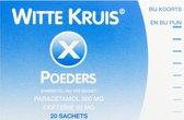 Witte Kruis Paracetamol-Coffeine 500/50 mg  - 20 Sachets -  Poeders