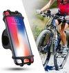 Telefoonhouder fiets - Smartphone Telefoon houder - 360* Rotatie - Universeel - Motor - Fiets - Kinderwagen